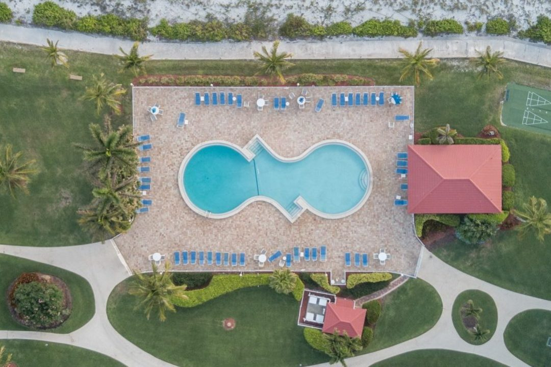 aerial photography for vacation resorts
